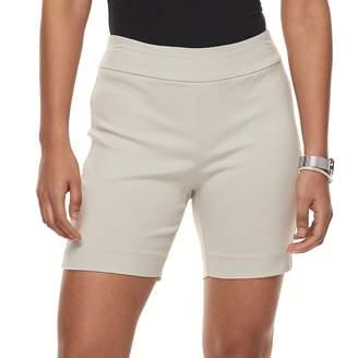 Briggs Petite Millennium Pull-On Shorts