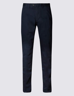 Pixi M&S CollectionMarks and Spencer Slim Fit Pure Cotton Chinos with Stormwear