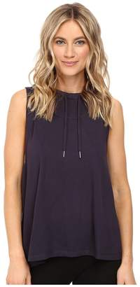 Midnight by Carole Hochman Lounge Sleeveless Hoodie Women's Pajama