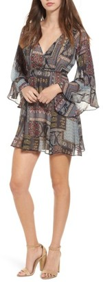 Women's Soprano Bell Sleeve Dress $39 thestylecure.com