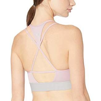 Core 10 Amazon Brand Women's Multi-Strap Sports Bra with Removable cups