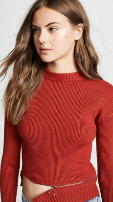 For Love & Lemons Annie Zipper Sweater