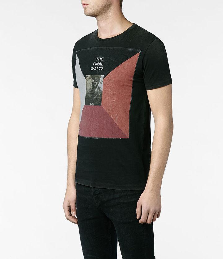 AllSaints Waltz Tonic Crew T-shirt
