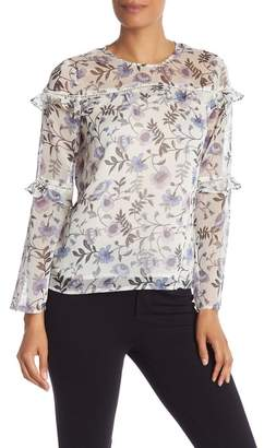 Cynthia Steffe CeCe by Bloomsbury Tiered Ruffle Blouse