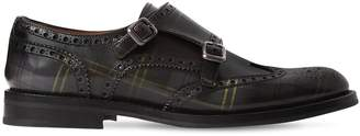 Church's 20mm Lana Tartan Leather Shoes