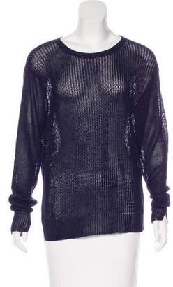 Organic by John Patrick Linen High-Low Sweater