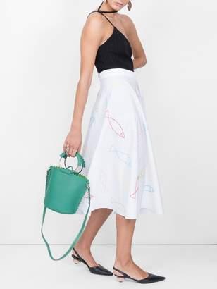 Maison Rabih Kayrouz Fish print skirt