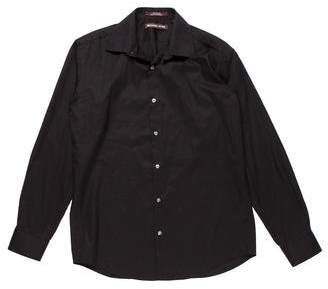 Michael Kors Woven Dress Shirt