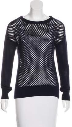 Trina Turk Scoop Neck Knit Sweater