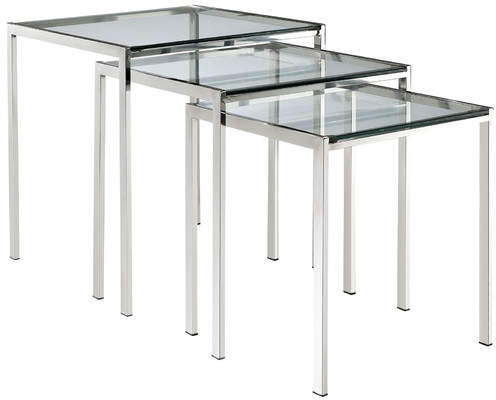 Modway Nimble 3 Piece Nesting Table Set