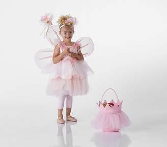 Pottery Barn Kids Paper Flower Fairy Costume, 3T (pink)