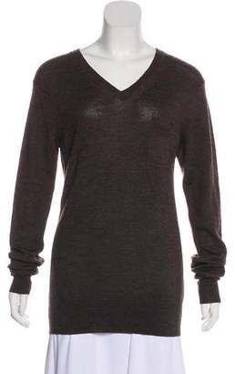 AllSaints V-Neck Long Sleeve Sweater