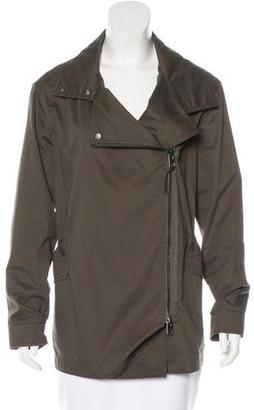 AllSaints Fitted Parka Jacket $145 thestylecure.com
