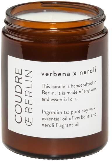 Coudre Berlin- Verbena x Neroli Duftkerze | Damen