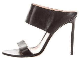 Gianvito Rossi Leather Open-Toe Sandals