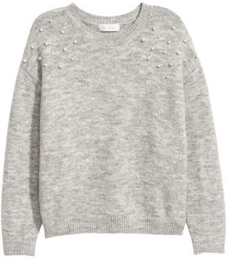 H&M Fine-knit Sweater - Gray