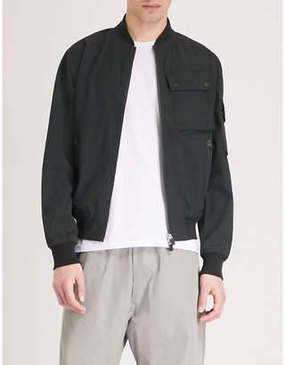 RAEBURN X SAVE THE DUCK Pocket-detail shell bomber jacket