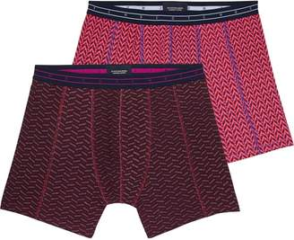 Scotch & Soda 2-Pack Printed Boxer Shorts