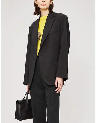 Maison Margiela Drawstring-detail woven blazer