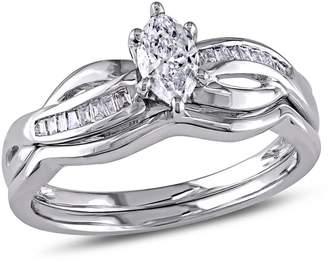 Concerto 0.5CT Diamond 14K White Gold Bridal Set
