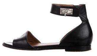 Givenchy Sharktooth Ankle Strap Sandals