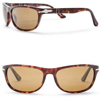 Persol Rectangle 63mm Sunglasses