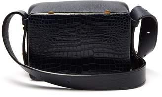 Lutz MORRIS Maya crocodile-effect leather shoulder bag