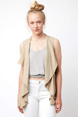 BB Dakota Tencel Lace Up Vest