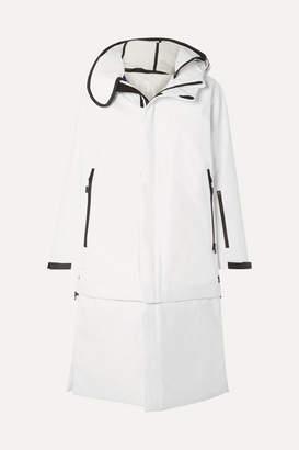 TEMPLA - 3l Tombra Convertible Hooded Cotton-blend Ski Coat - White