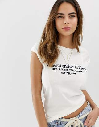 Abercrombie & Fitch t-shirt with logo