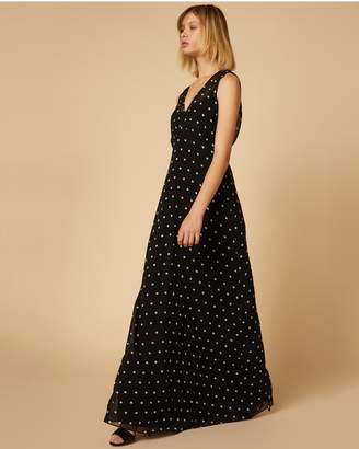 Juicy Couture Polka Dot Maxi Dress