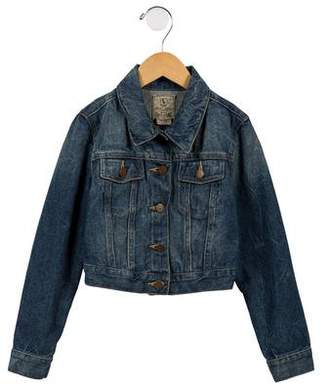Ralph Lauren Girl's Cropped Denim Jacket