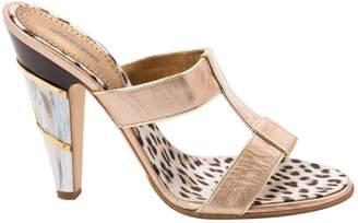 Roberto Cavalli Pink Patent leather Sandals