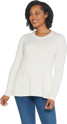 Women With Control Attitudes by Renee Weekend Chic Rayon from Bamboo Top with Pockets