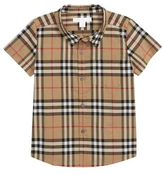 Burberry Fred Check Woven Shirt
