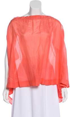 By Malene Birger Off-The-Shoulder Oversized Top