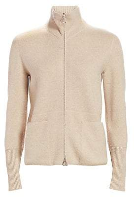 Akris Women's Cashmere Zip-Front Cardigan
