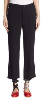 Miu Miu Cropped Flared Pants