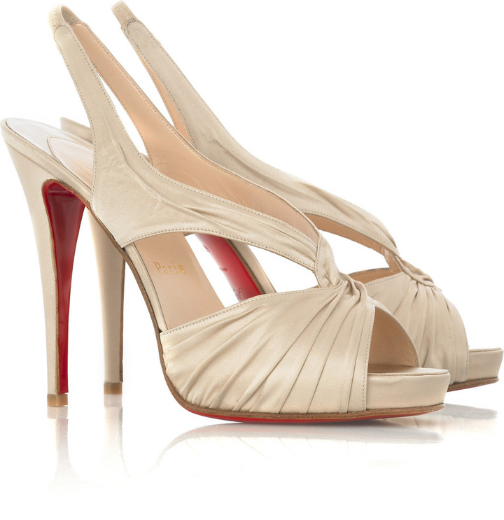 Christian Louboutin Fortuna 120 platform pumps