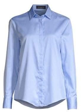 Piazza Sempione Striped Button-Down Shirt