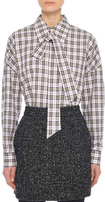 Tibi Recycled Tweed High Waisted Mini Skirt