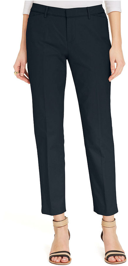 Tommy Hilfiger Straight-Leg Ankle Pants
