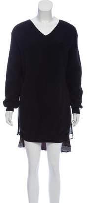 Sacai Wool Sweater Dress w/ Tags