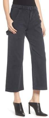 Hudson Crop Straight Leg Cargo Pants