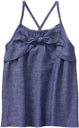 Crazy 8 Crazy8 Chambray Knot Top