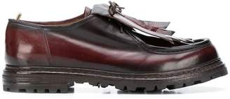 Officine Creative fringed lace-up shoes