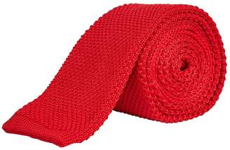 Burton Mens Knitted Straight End Tie