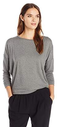 Michael Stars Women's Elevated French Terry Dolman Sleeve Top