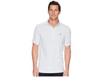 Polo Ralph Lauren Oxford Pique Short Sleeve Knit Polo Men's Clothing