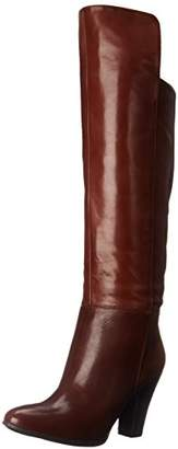 Nine West Women's Quikstep Leather Slouch Boot